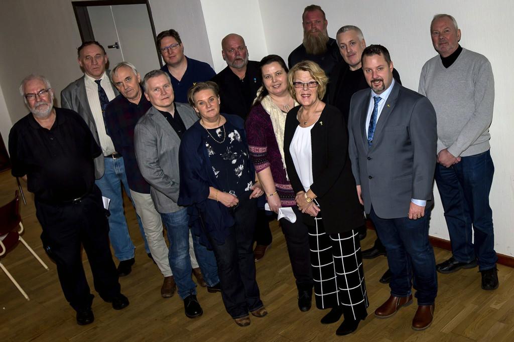 Styrelsen för SD Karlskrona 2018