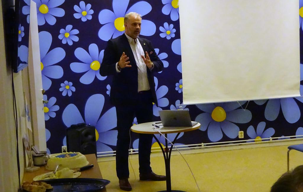 SD Karlskrona  höll invigning