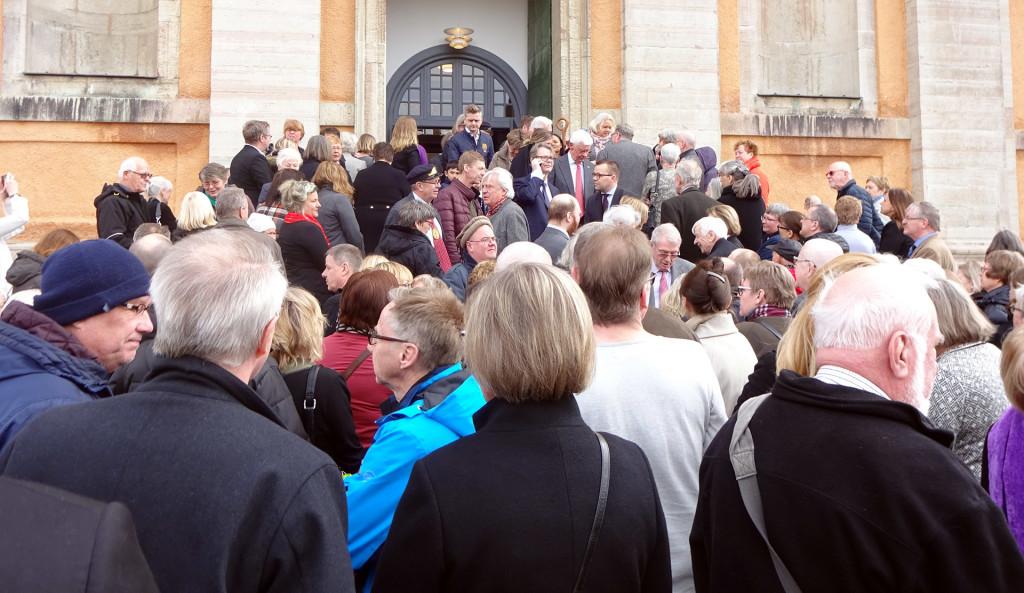 Återinvigningen av Fredrikskyrkan på Palmsöndagen den 25 mars 2018