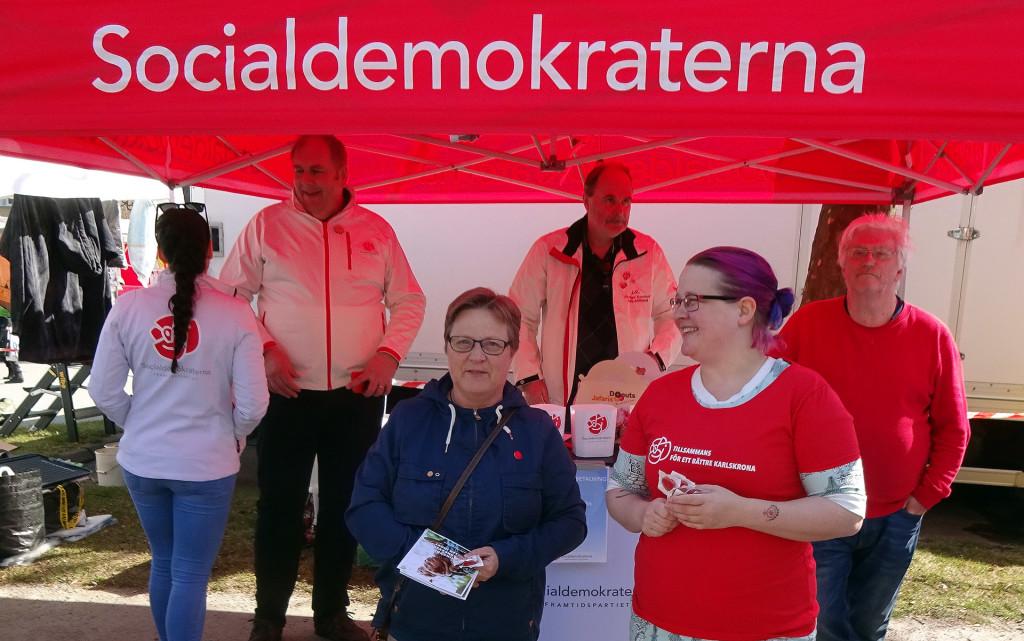 Socialdemokraterna på Lyckeby Marknad