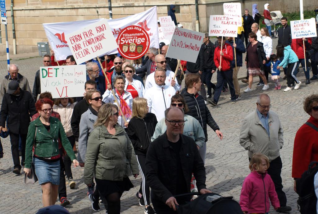 Socialdemokraterna 1 maj