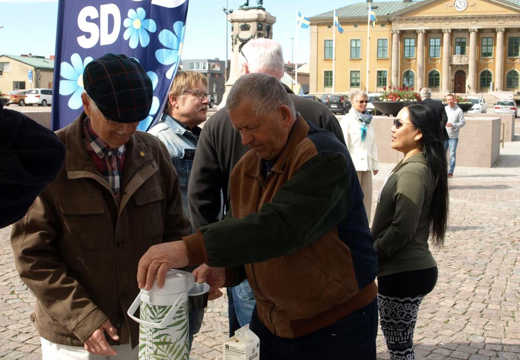 Sverigedemokraterna 1 maj 2018
