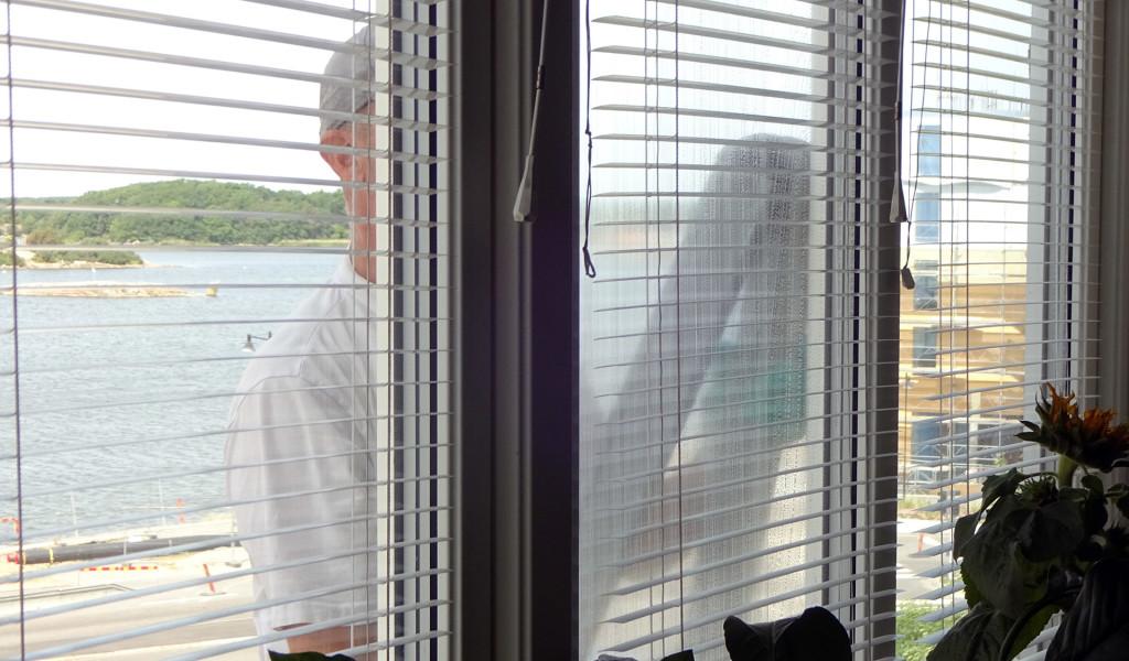 Gratis fönstertvätt idag!