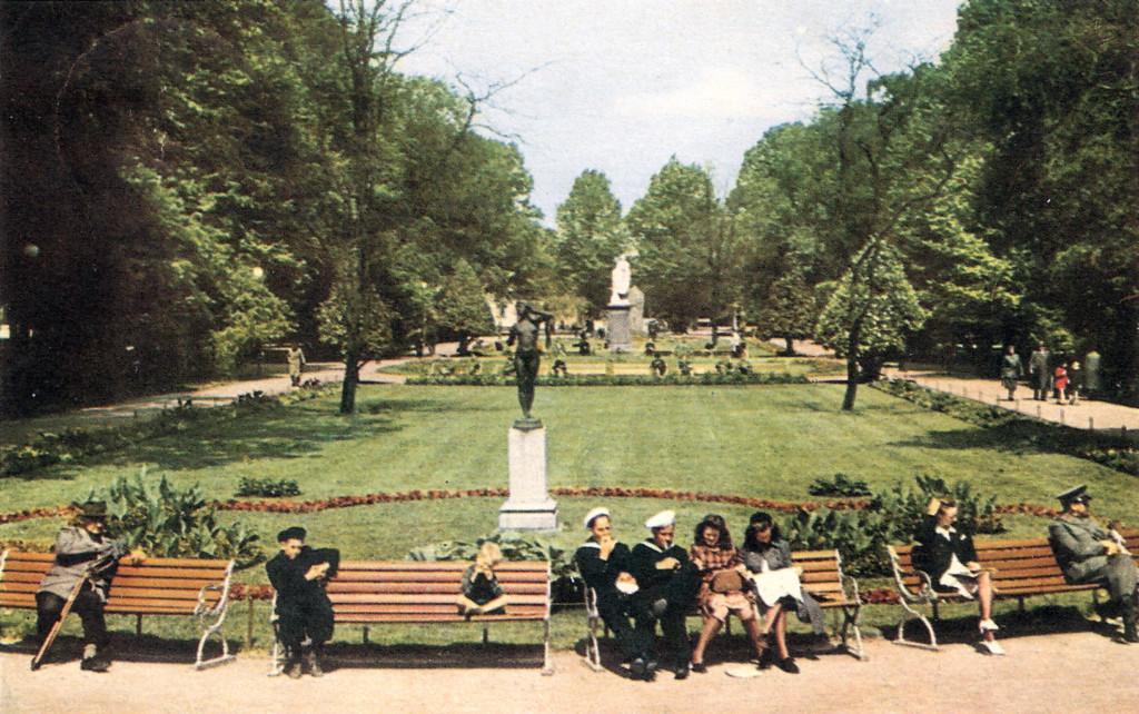 """Hoglands park med """"Eko"""""""