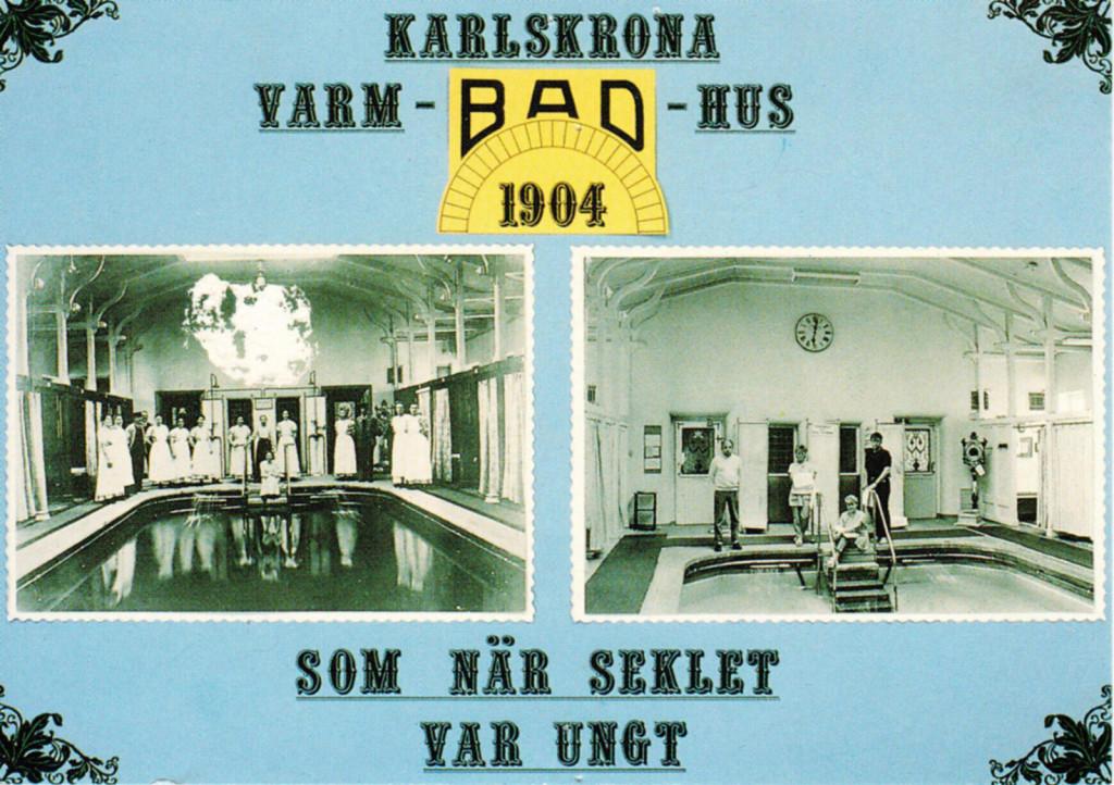 Karlskrona Badhus i gamla tider
