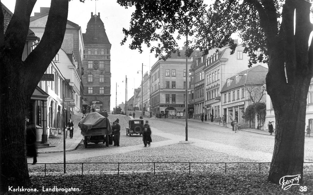 Landbrogatan på 1930-talet