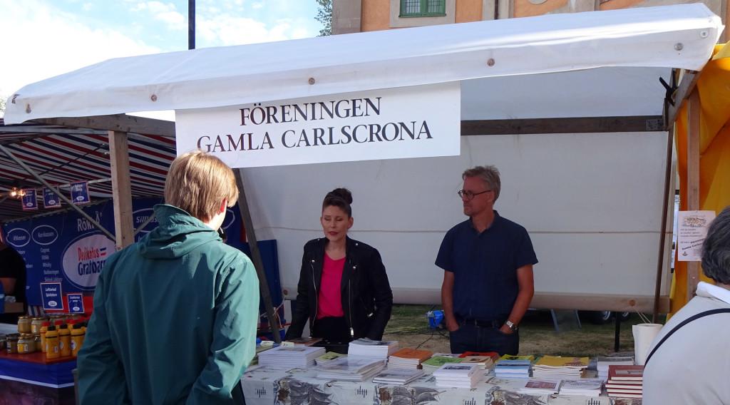 Föreningen Gamla Carlscrona på Lövmarknaden 2018