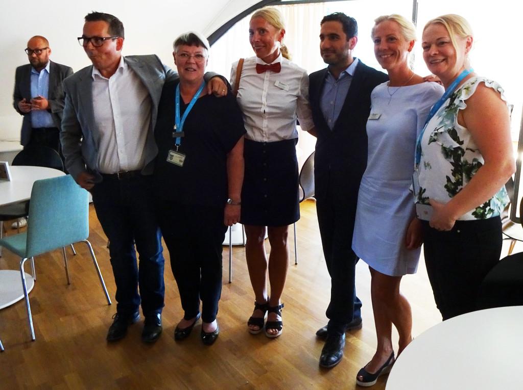 Officiell invigning av att Arbetsmarknadsavdelningen blivit sambo med Servicekontoret i Karlskrona.2018-06-08