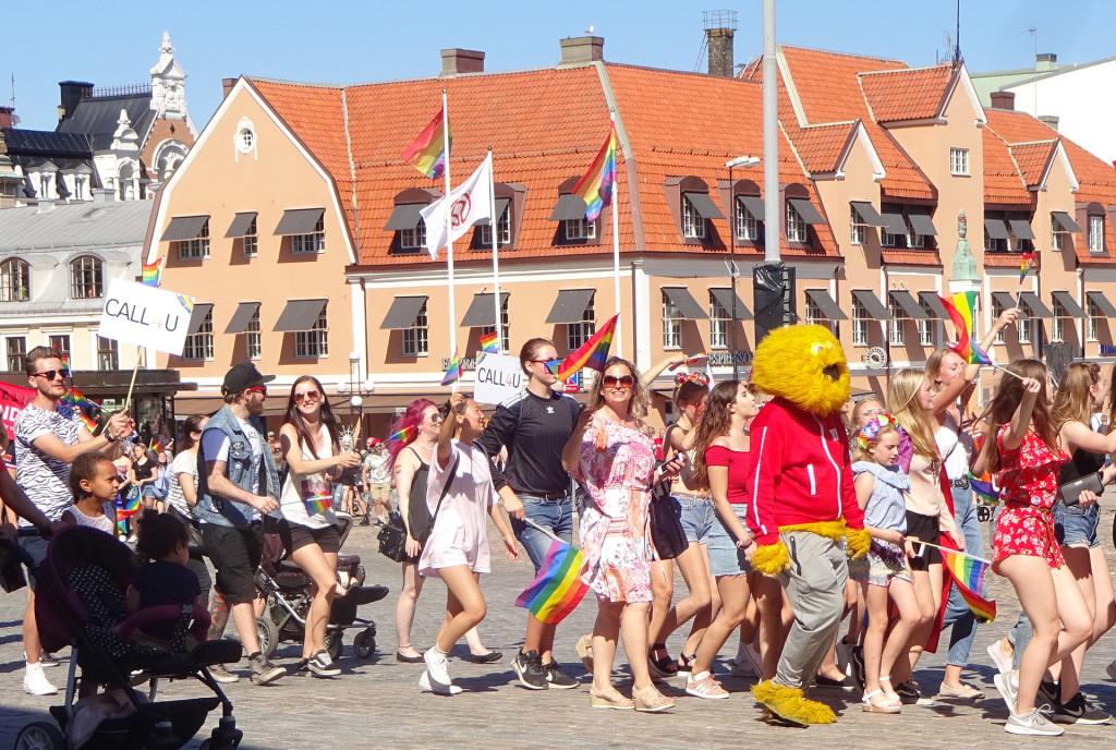 """Bildspel från """"Karlskrona Pride"""" 2018-06-02"""