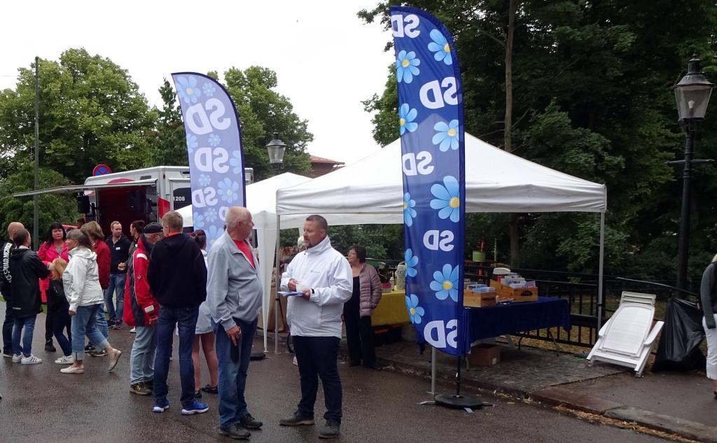 SD Karlskrona på Lövmarknaden 2018