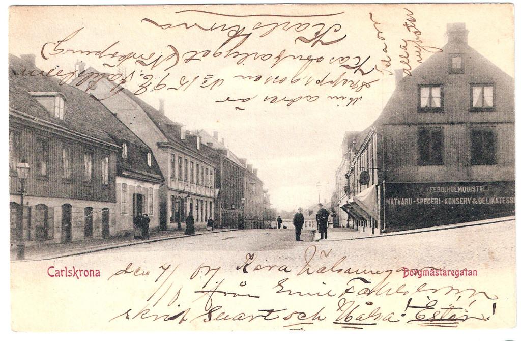 Borgmästaregatan 1904