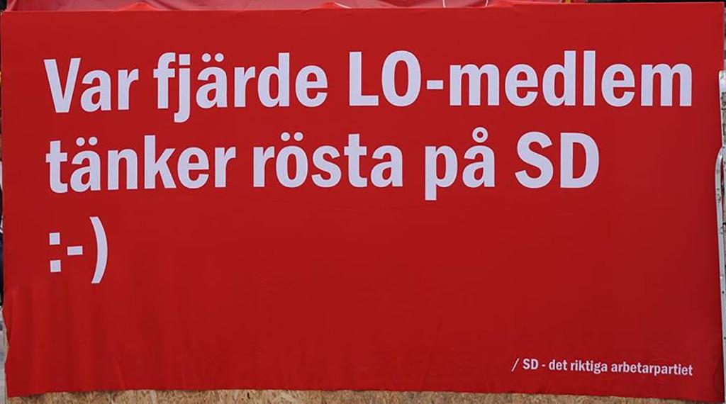 """Sverigedemokraterna är """"Den nya folkrörelsen"""""""