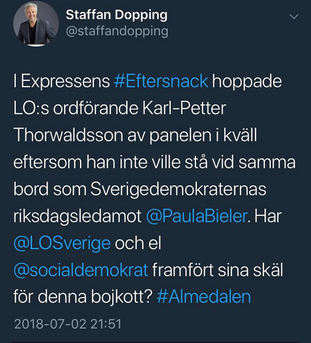 Allt handlar om SD på Gotland