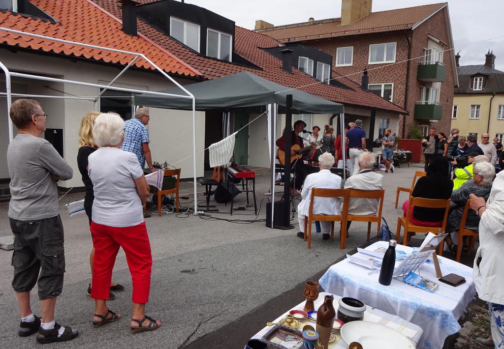 Underhållning under Björkholmens Dag 2018