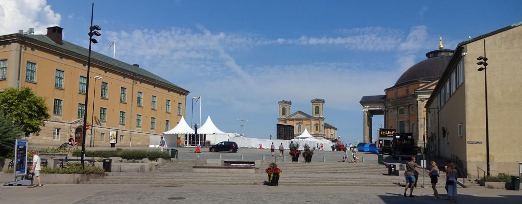Inför Karlskrona Skärgårdsfest
