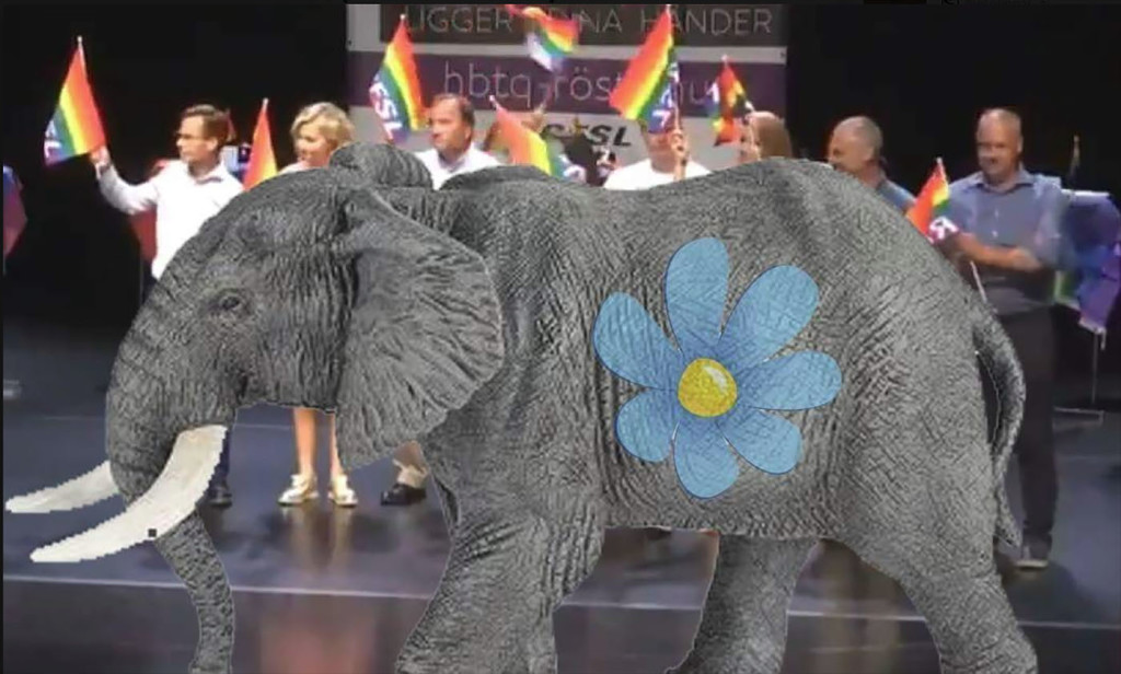 Elefanten vann debatten