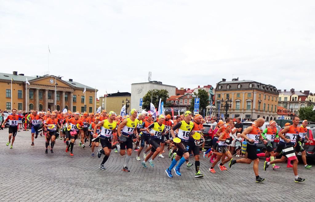 Karlskrona Swimrun startar