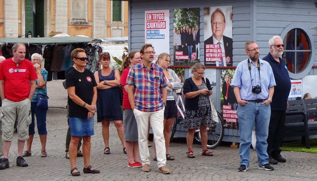 Invigning av valstugorna i Karlskrona 2018