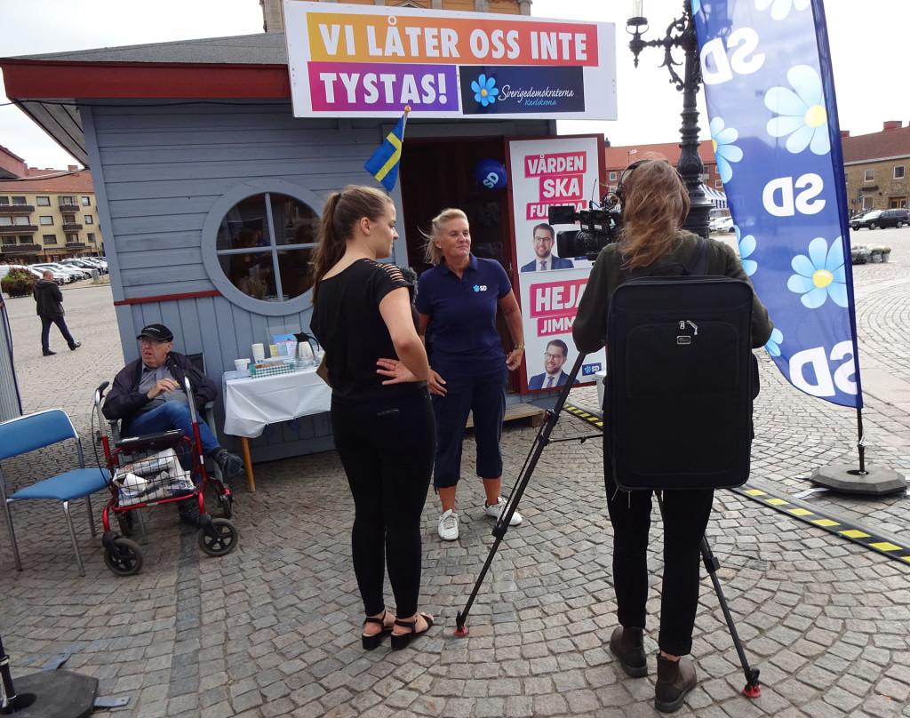SVT Blekinge besöker valstugor