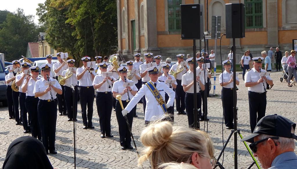 Marinens Musikkår spelade