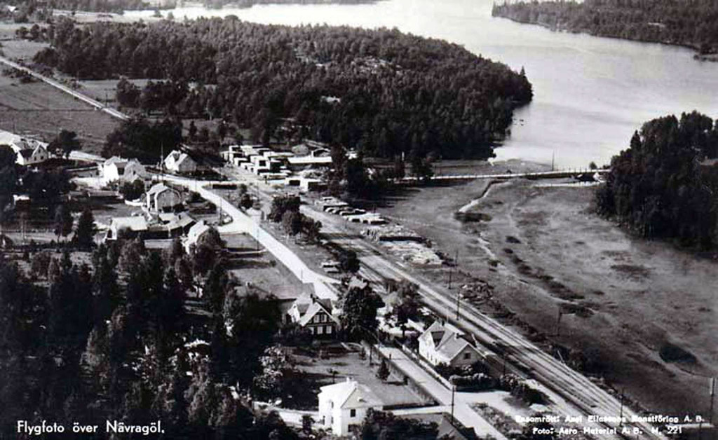 Nävragöl från luften 1950