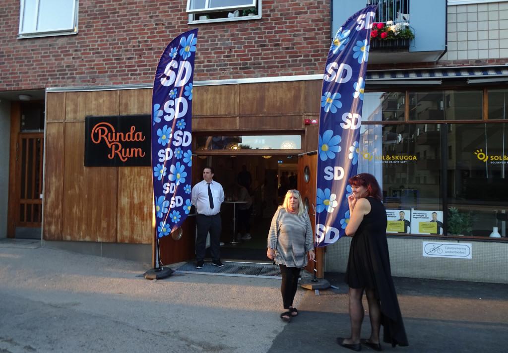 SD:s valvaka på Runda Rum