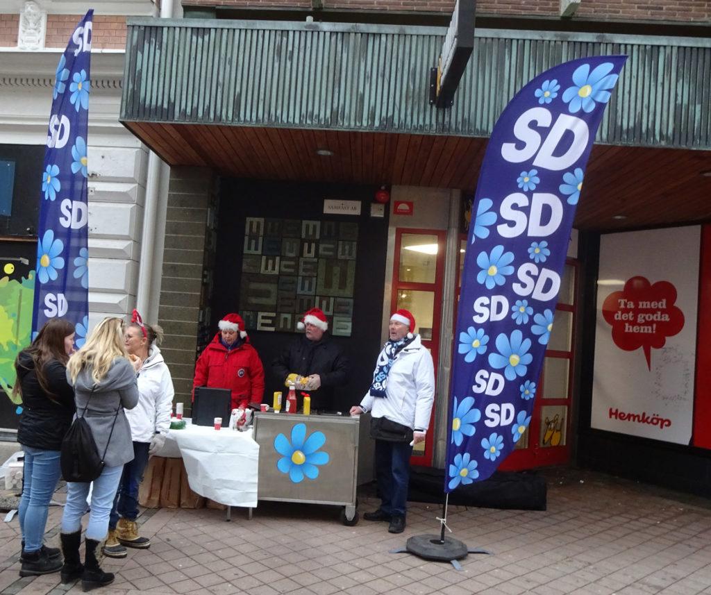 SD Karlskrona bjuder på korv och glögg på första advent 2018