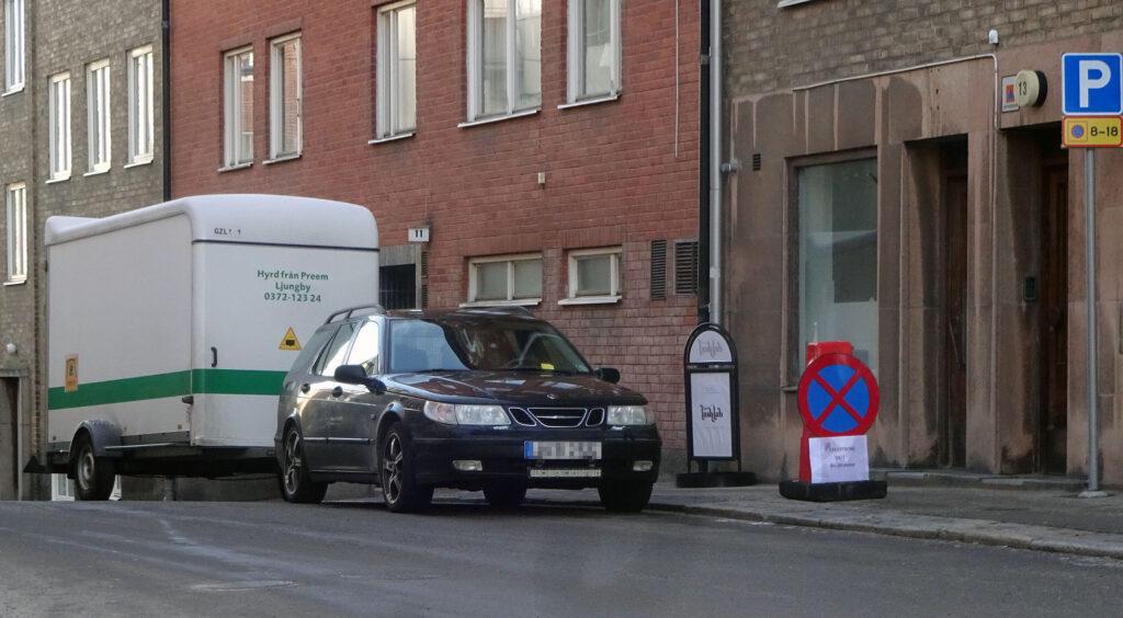 Onödiga parkeringsböter på Västra Köpmangatan