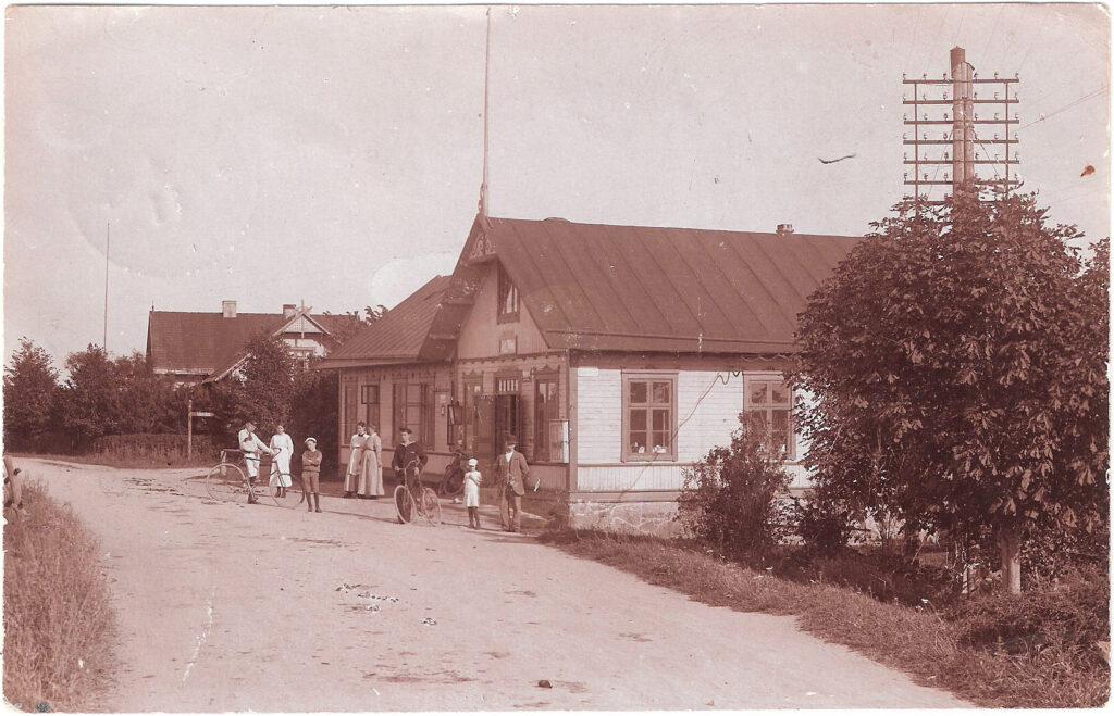 Holmedal i Ramdala 1918