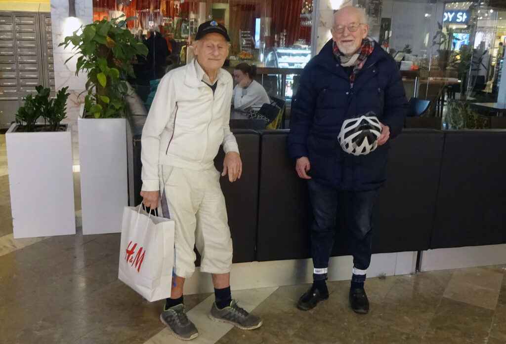 Stig Johansson och Bengt-Åke Ljungquist