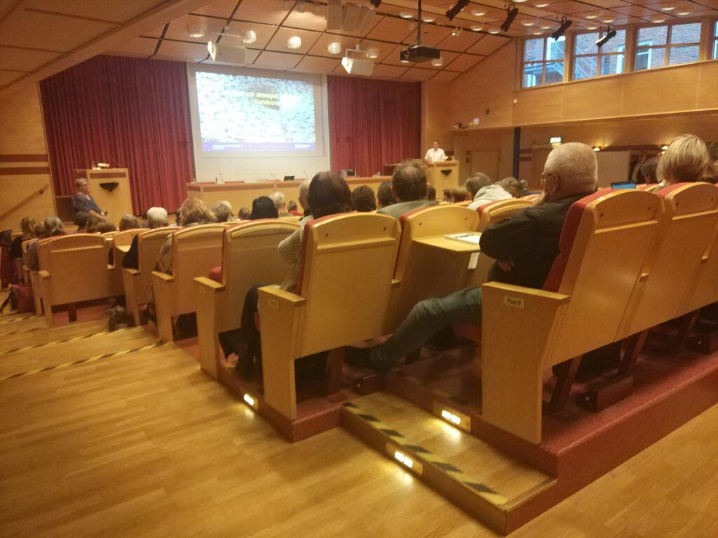 Utbildning för alla förtroendevalda i Karlskrona kommun 2019-2022 i Wämö Center den 1 februari 2019.