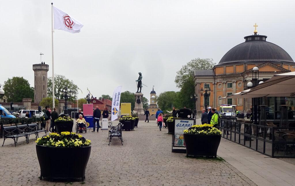 Helt folktomt AfS-möte i Karlskrona