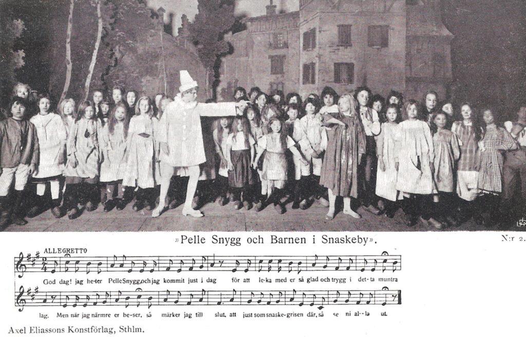 Pelle Snygg och Barnen i Snaskeby av Ottilia Adelborg