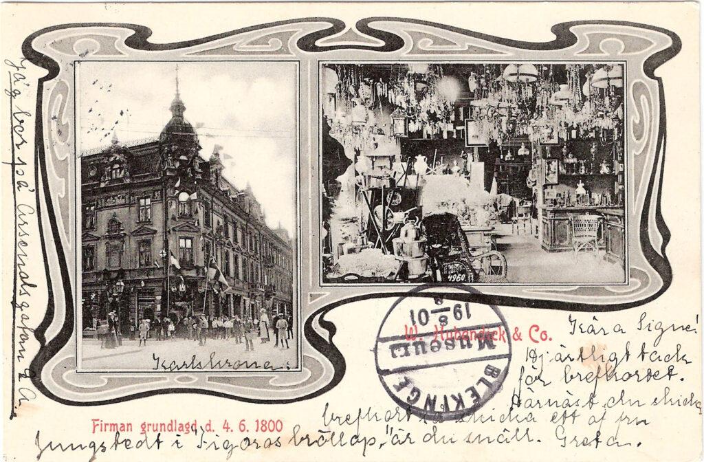 Hubendickska huset 1900