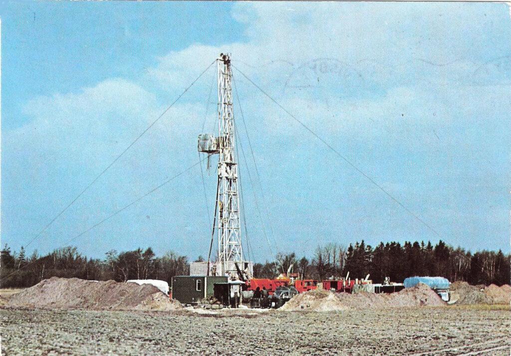 Oljeborrning på Gotland