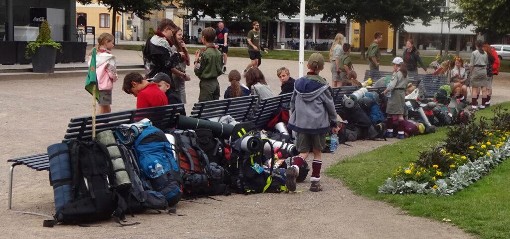 Polska scouter i Karlskrona