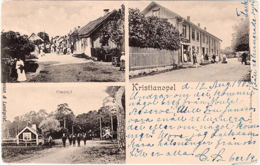 Motiv från Kristianopel 1903