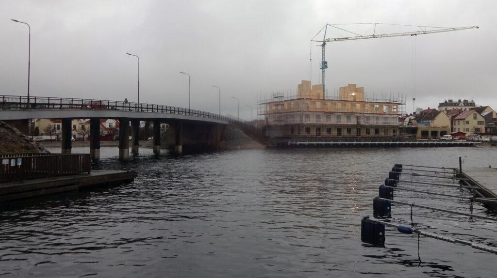 Byggena vid Kilströmskaj